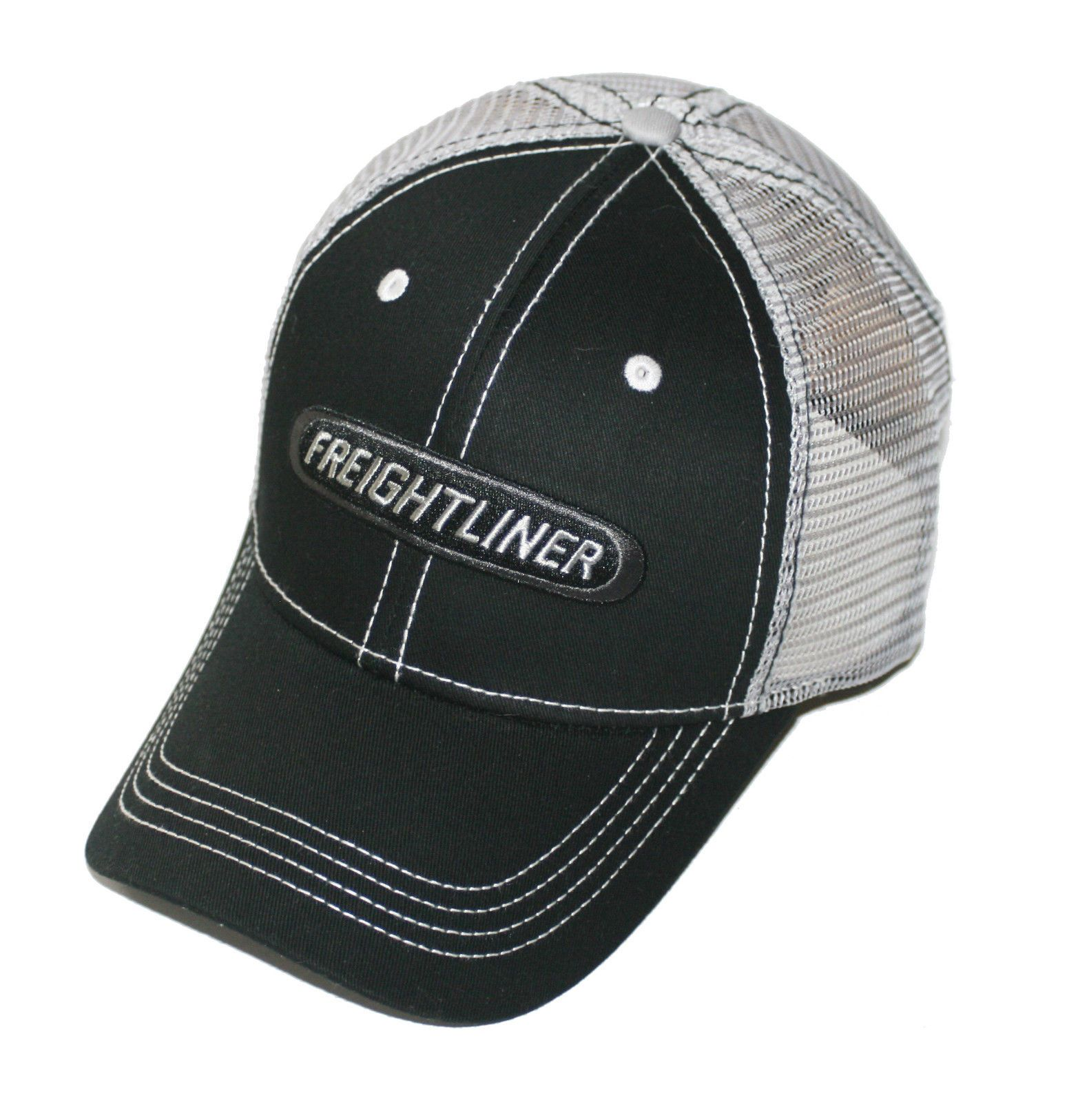 d4cdf89df91fb Freightliner Merchandise - Freightliner Mesh Back Black Hats - Freightliner  Caps