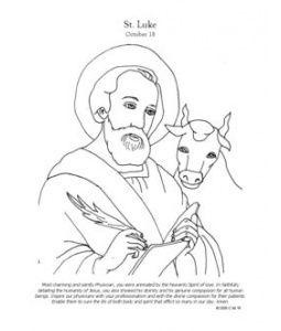 St Luke Luke The Evangelist