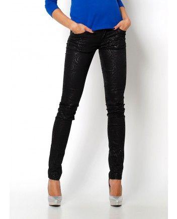 c9ddecd54 Spodnie z motywem kwiatowym. | Spodnie damskie | Pinterest