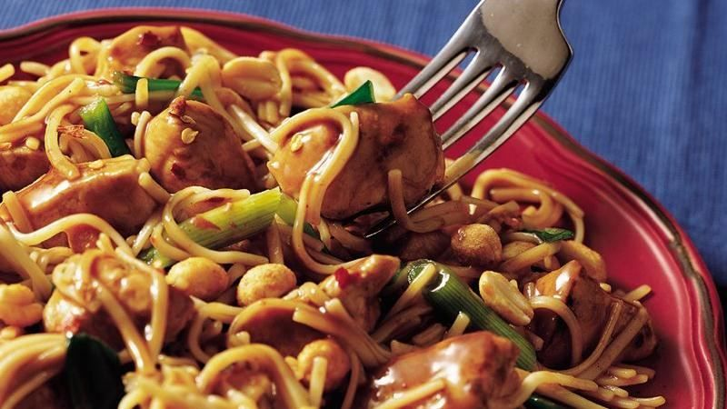 Kung Pao Noodles and Chicken Recipe Noodles, Gift Ideas For
