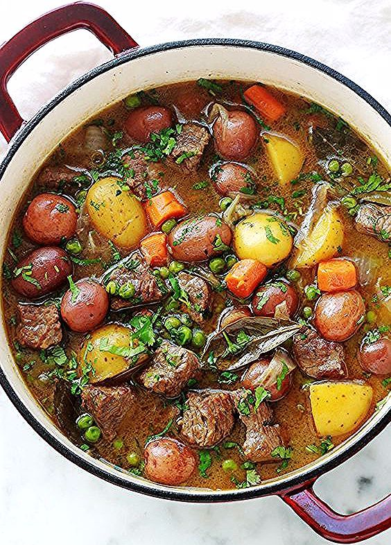 Photo of Recipe for beef stew with vegetables simple and full of …