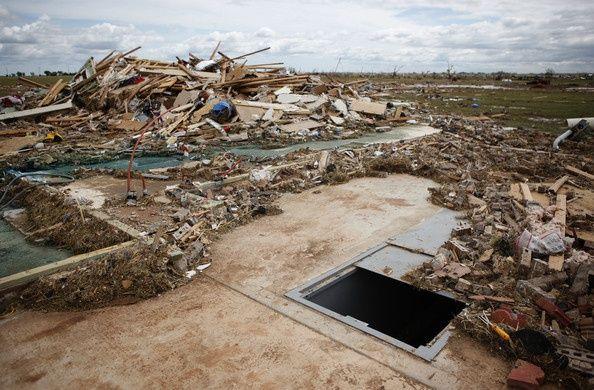Mehrere Tornados treffen Gebiete in der Nähe von Oklahoma