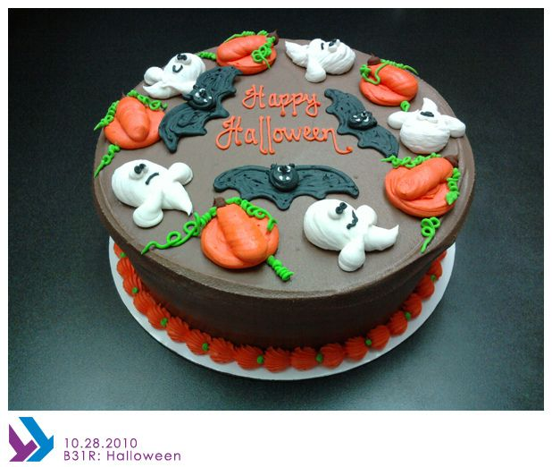 BR101 Halloween candy and Holidays halloween - halloween decorated cakes