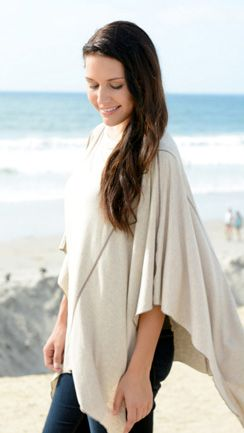 The Solana style is a sand color Nursing cover. #favoritedria