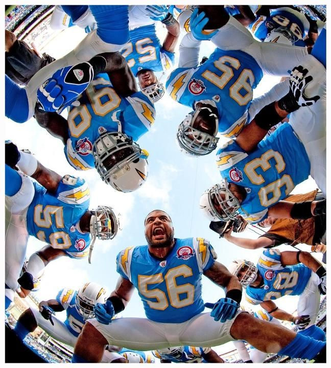 San Diego Chargers Blue: Chargers' Powder Blue Uniforms