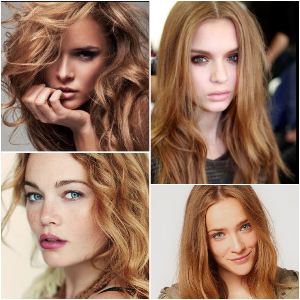 Hair Color Copper Kissed Blonde Formula On Natural Level 8 Formula 1 Goldwell Topchic 8kn
