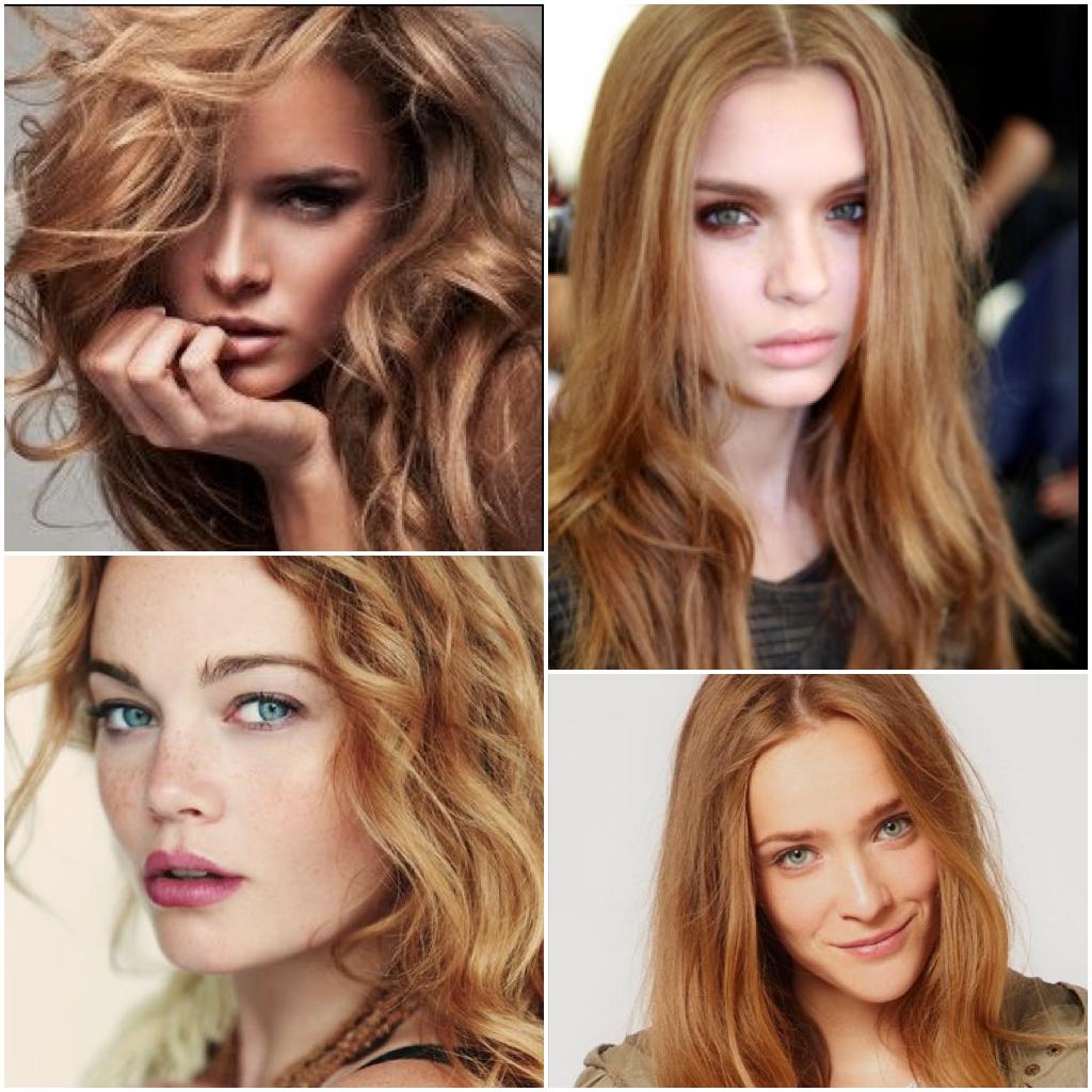 Hair Color Copper Kissed Blonde Formula On Natural