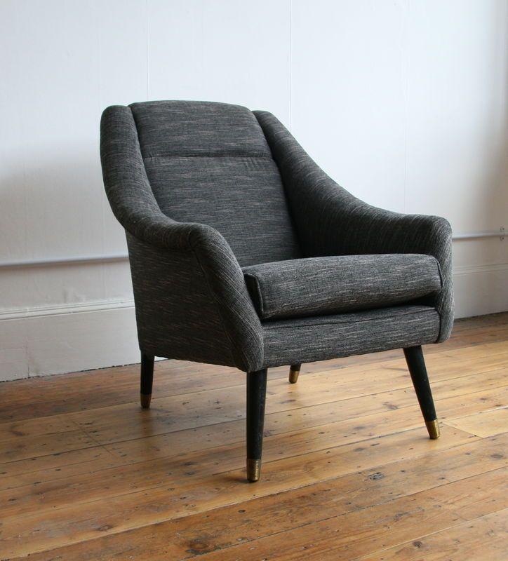 Mid-Century Modern armchair | Iç tasarım, Tasarım