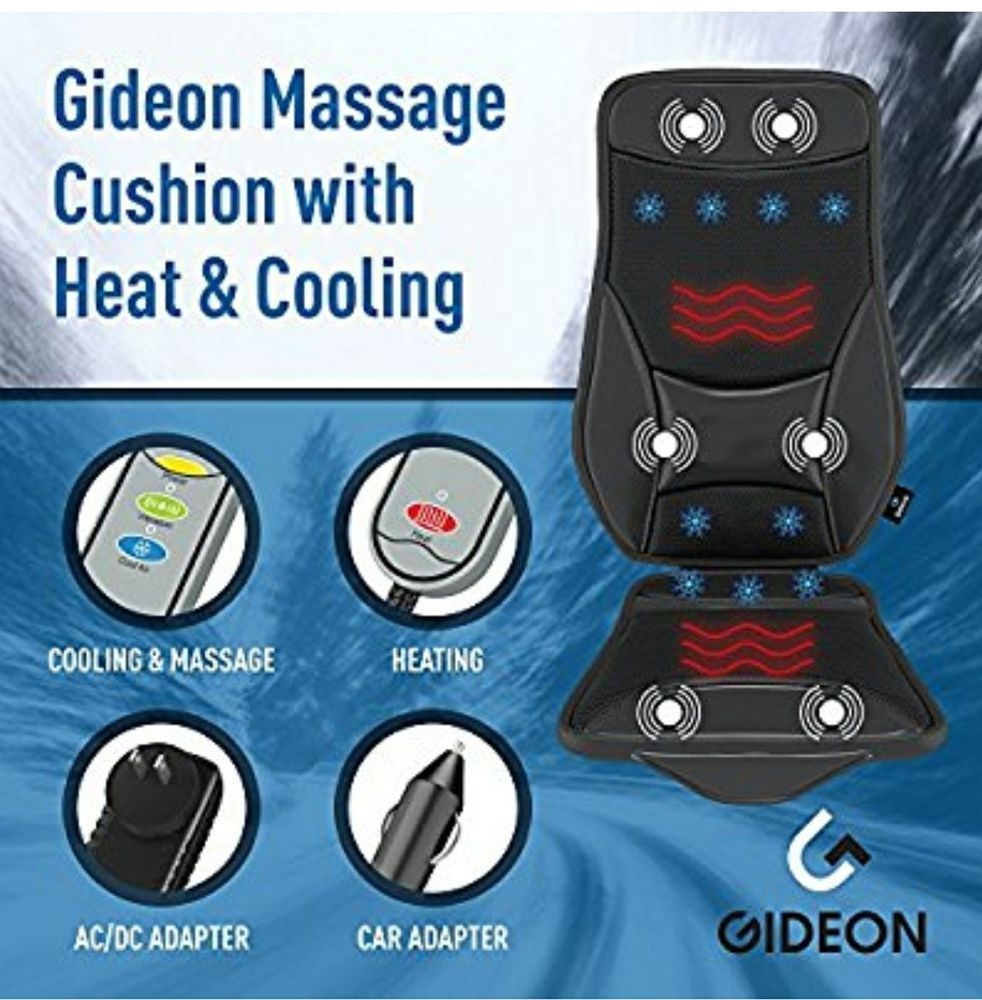 Gideon Luxury Cooling And Heating Ventilated Seat Cushion Car