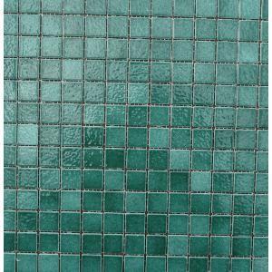 Vert foncé / buis mosaïque Briare par plaque | Salle de bain | Emaux ...