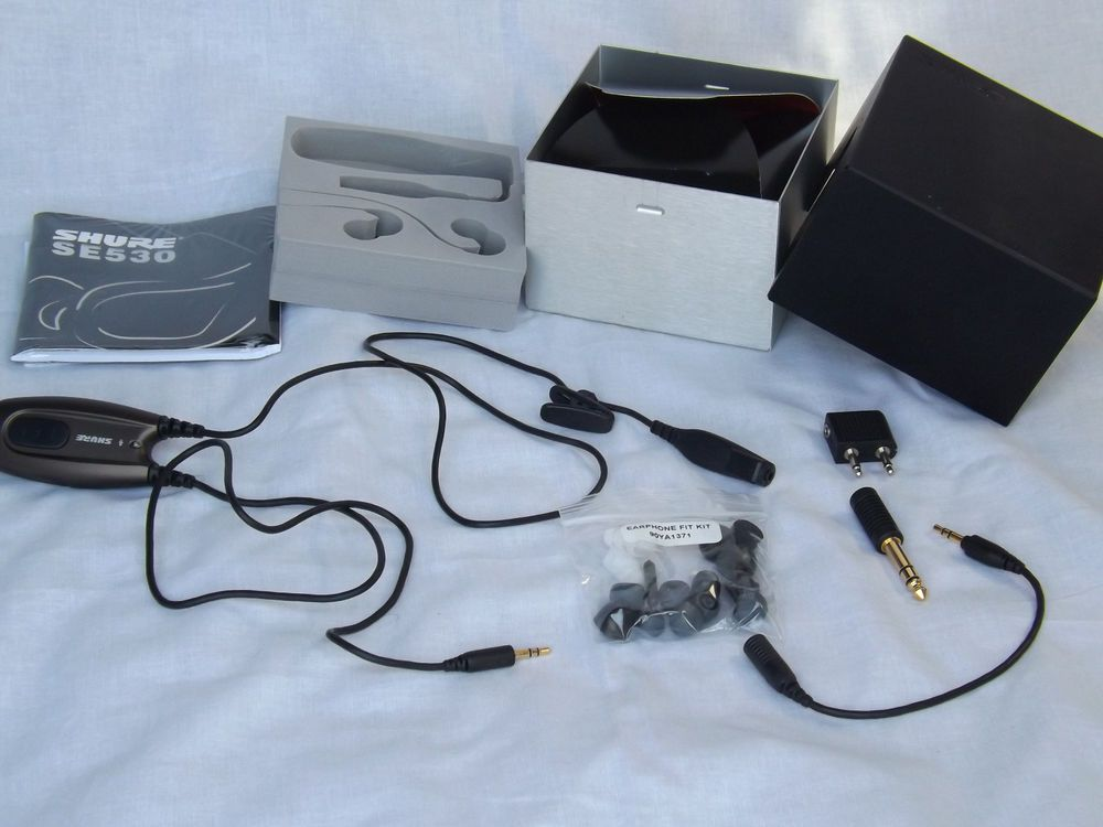 Shure SE530 In Ear Headphones Bronze Missing Ear Buds Parts Replacement SE 530 #Shure