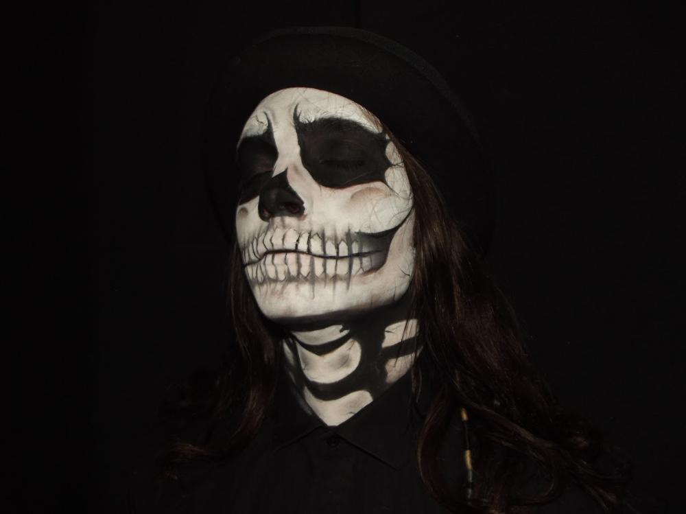 Portfolio 2019 Google Drive Halloween face makeup