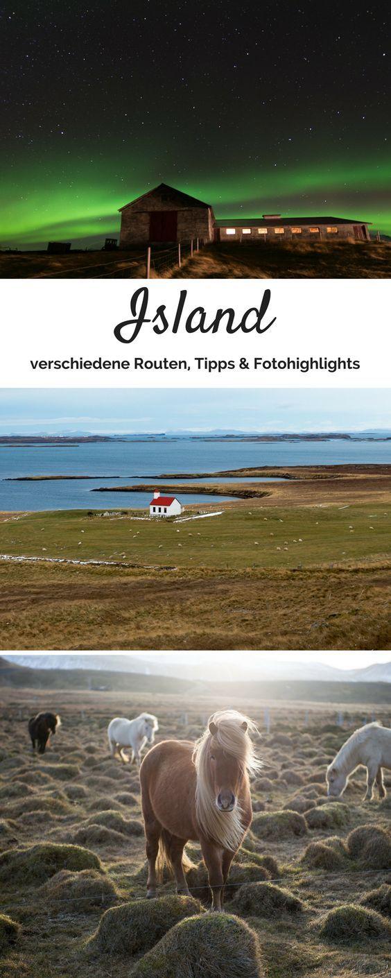 Island Rundreise: Tipps zu Route, Mietwagen & Fotografie #holidaytrip