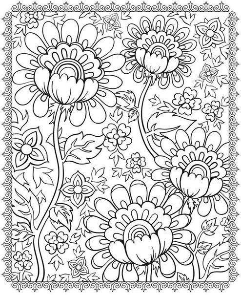 Ben Iyisimi Büyüklere Boyama Kitabı Flowers Pinterest