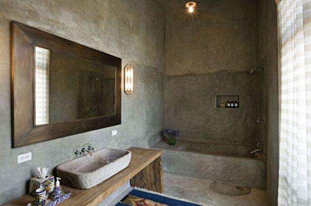 Paredes rusticas para interior 30 fotos, ideas y consejos - paredes de cemento