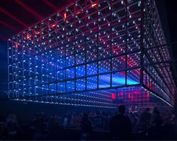 guto requena transforms industrial space into interactive dance club in brazil