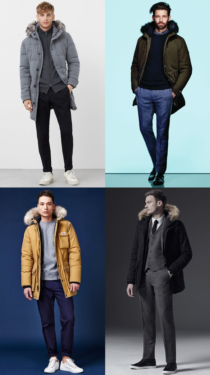 49f830a82d7 Men s Parka Coats Outfit Inspiration Lookbook For Autumn Winter 2016 ...