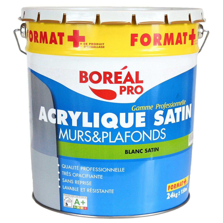 Peinture Blanche Mur Et Plafond Boréal Mat 15 L Products