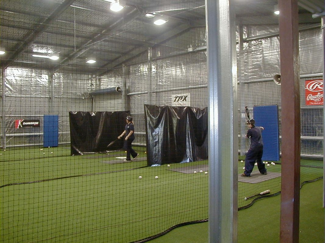 Indoor batting cage design baseball nets and netting for Design indoor baseball facility