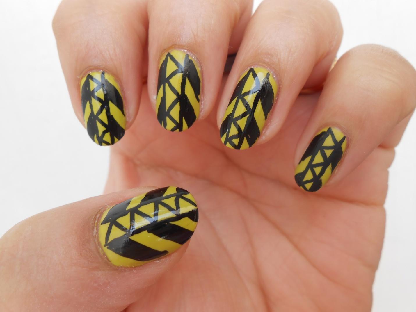 Manicure Addict: Guest Post: Tribal Nail Art Tutorial ...