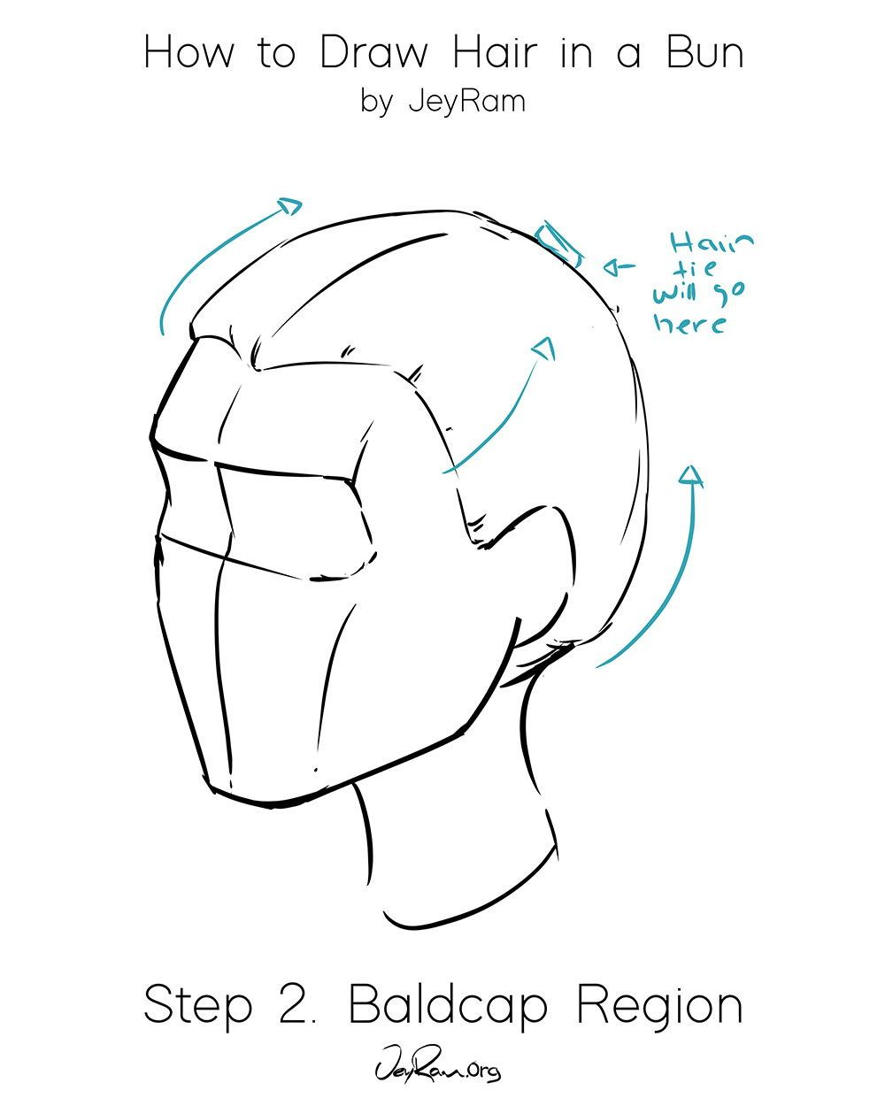 Photo of How to Draw Hair in a Bun: Easy Tutorial for Beginners