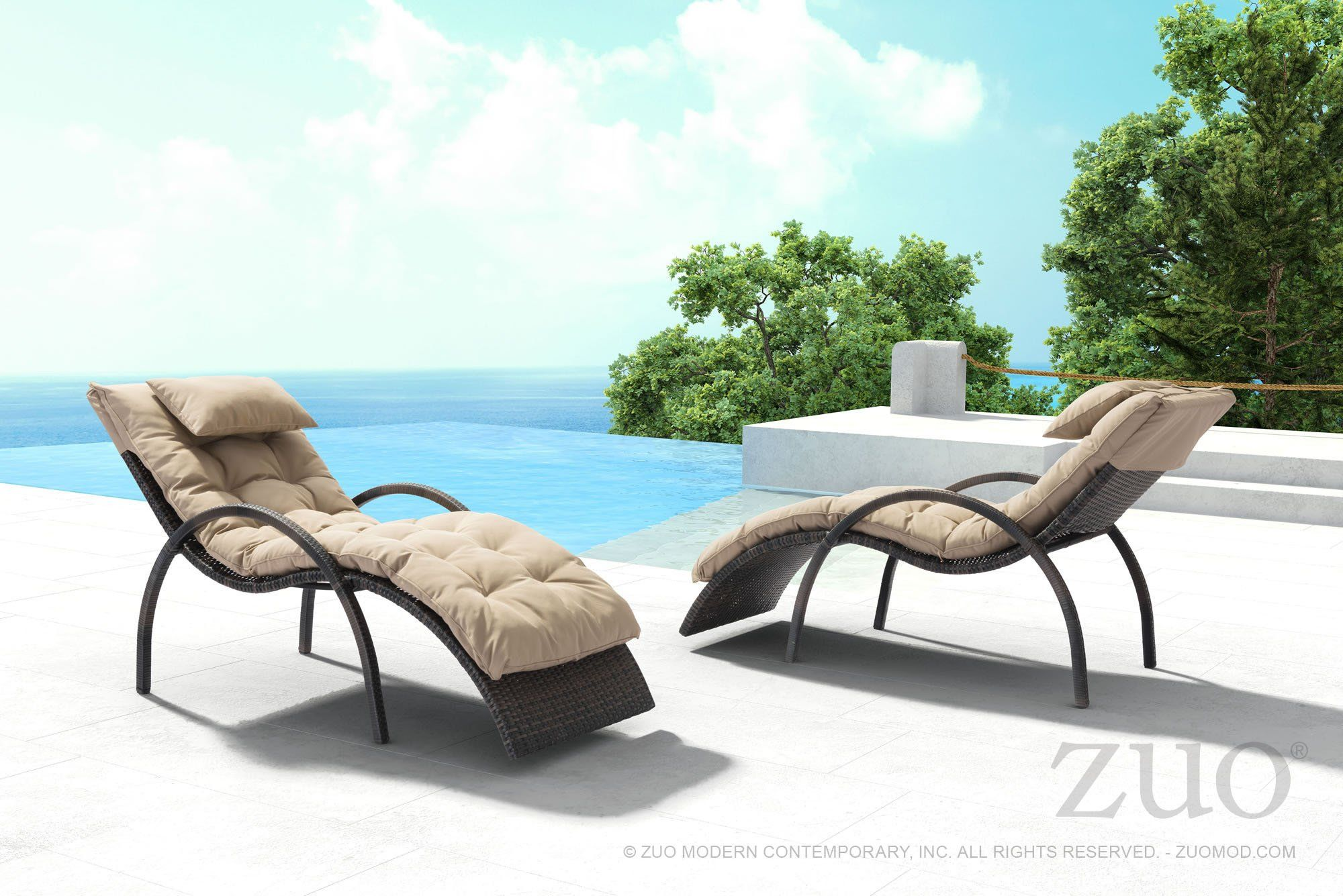 Info Features Dimensions Heaven On Earth The Blon Beach Lounge Chair A Sculpted Design And Comfortable Armrests With Ultra Plush