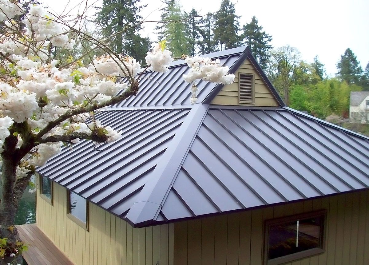 Metal roof types metal roofs for House plans with tin roofs