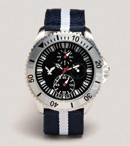 Reloj cronógrafo de lona AEO