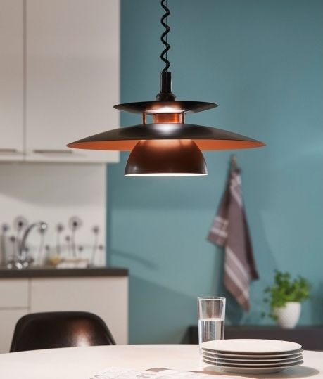 Scandinavian Pendant With A Rise And Fall Mechanism