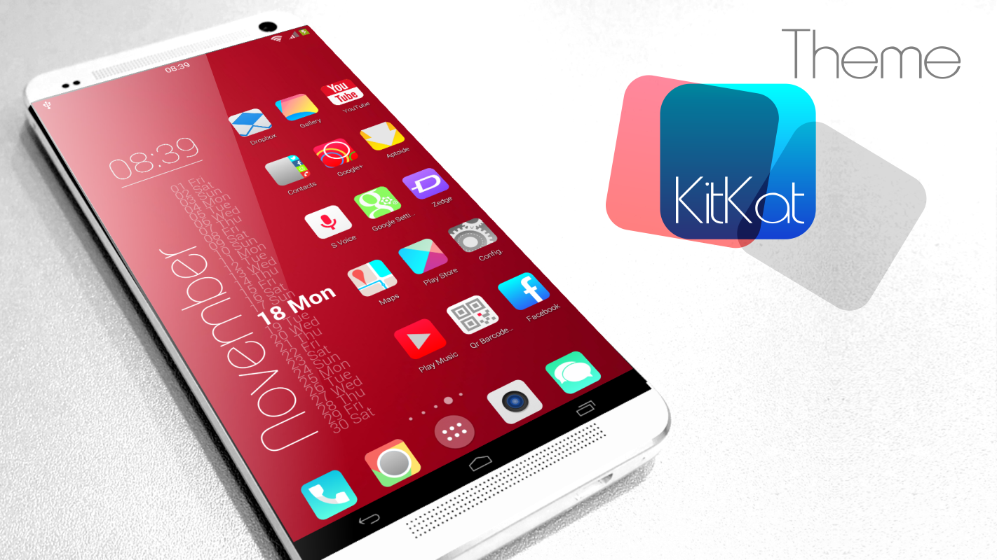 KitKat HD Launcher Theme Icon v6 APK Android Android