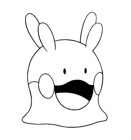 kleurplaat #pokemonxandy Goomy #coloring    wwwpokemon - best of pokemon coloring pages meganium