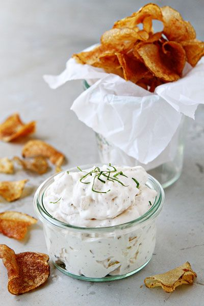 French Onion Chip Dip - and so my mouth waters @_@