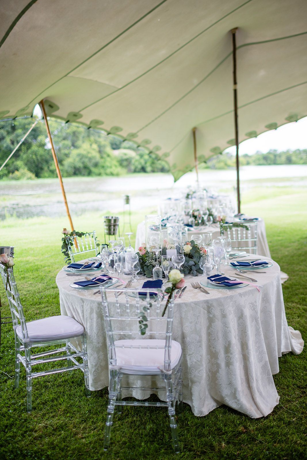 Tiffany chairs flowers candles and decoration at our wedding in tiffany chairs flowers candles and decoration at our wedding in zimbabwe 31 dec 14 photo howling moon tessandgarth junglespirit Choice Image