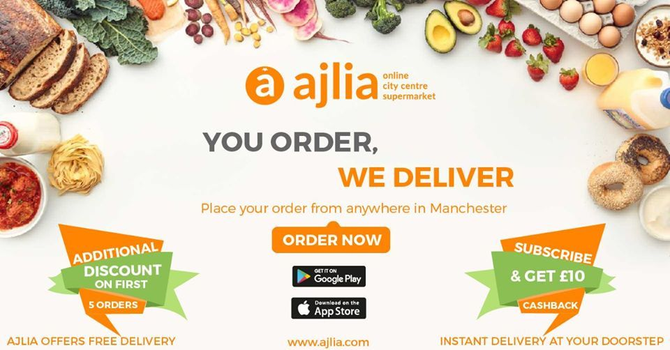 Online Grocery Delivery In Manchester Uk Grocery Online Delivery Groceries Online Grocery Delivery