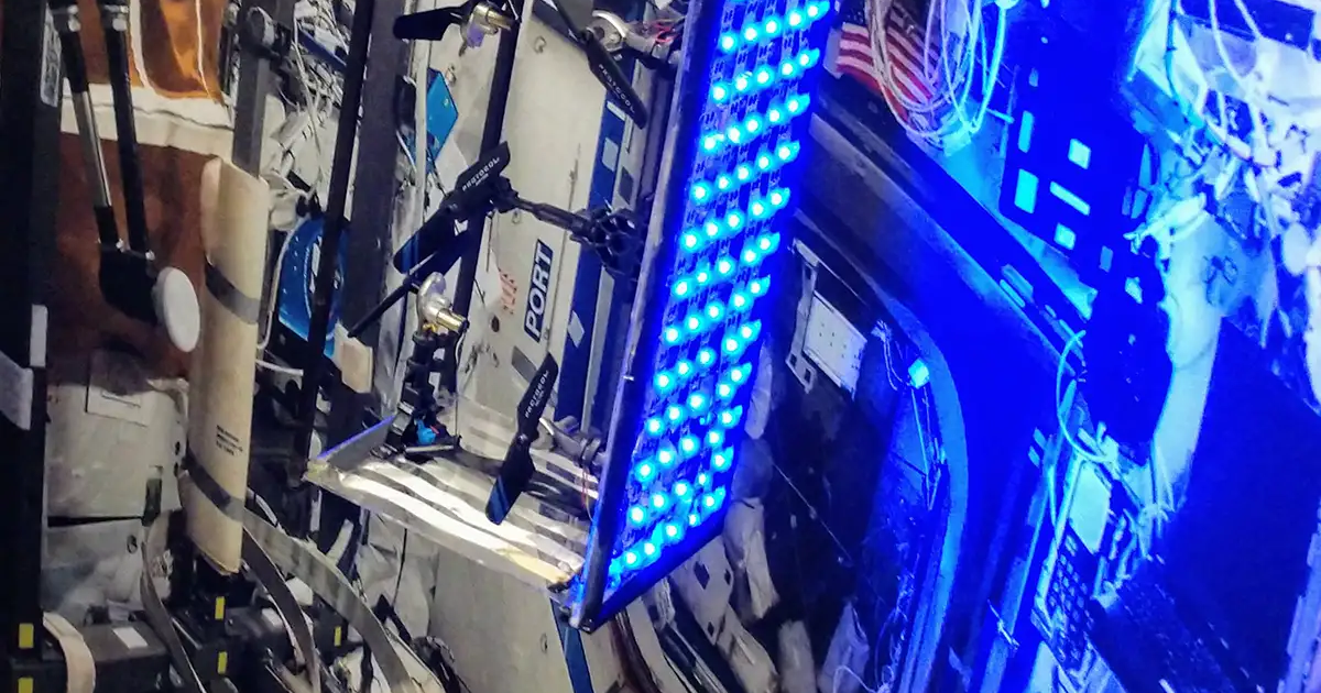 This space Roomba could clean the ISS while astronauts ...