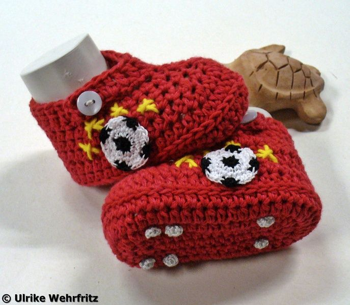 Babyschuhe Turnschuhe Fußballschuhe Sneakers von strickliene auf ...