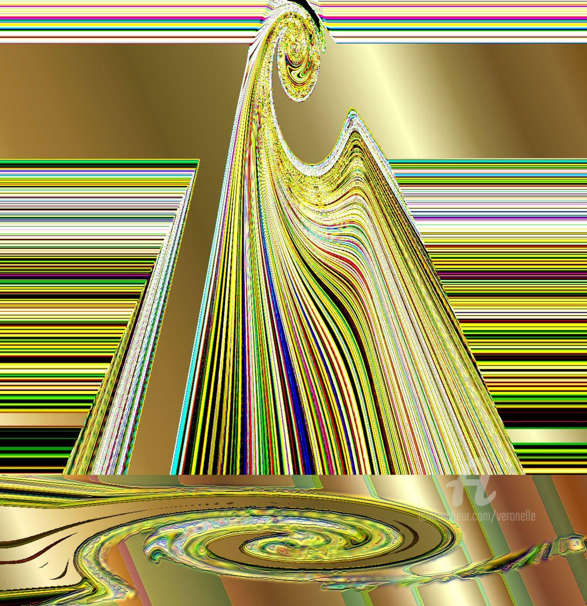 Effet reflet Arts numériques par Veronelle Artmajeur