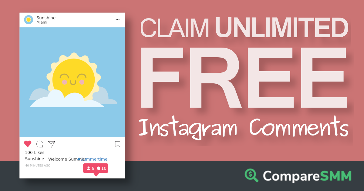 Free Instagram Comments Free Followers On Instagram Free Instagram Instagram Followers