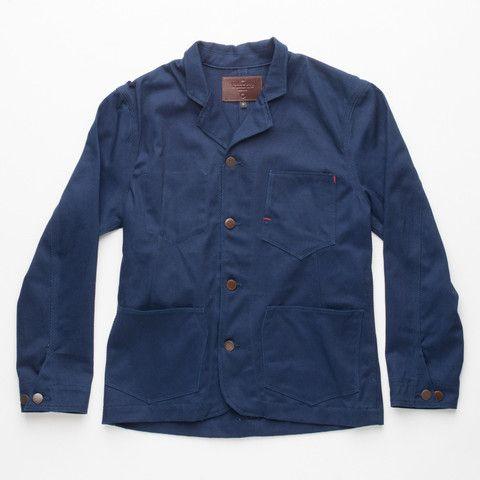 Freenote Cloth | Workers Jacket - Vintage Twill | $260 #madeinUSA