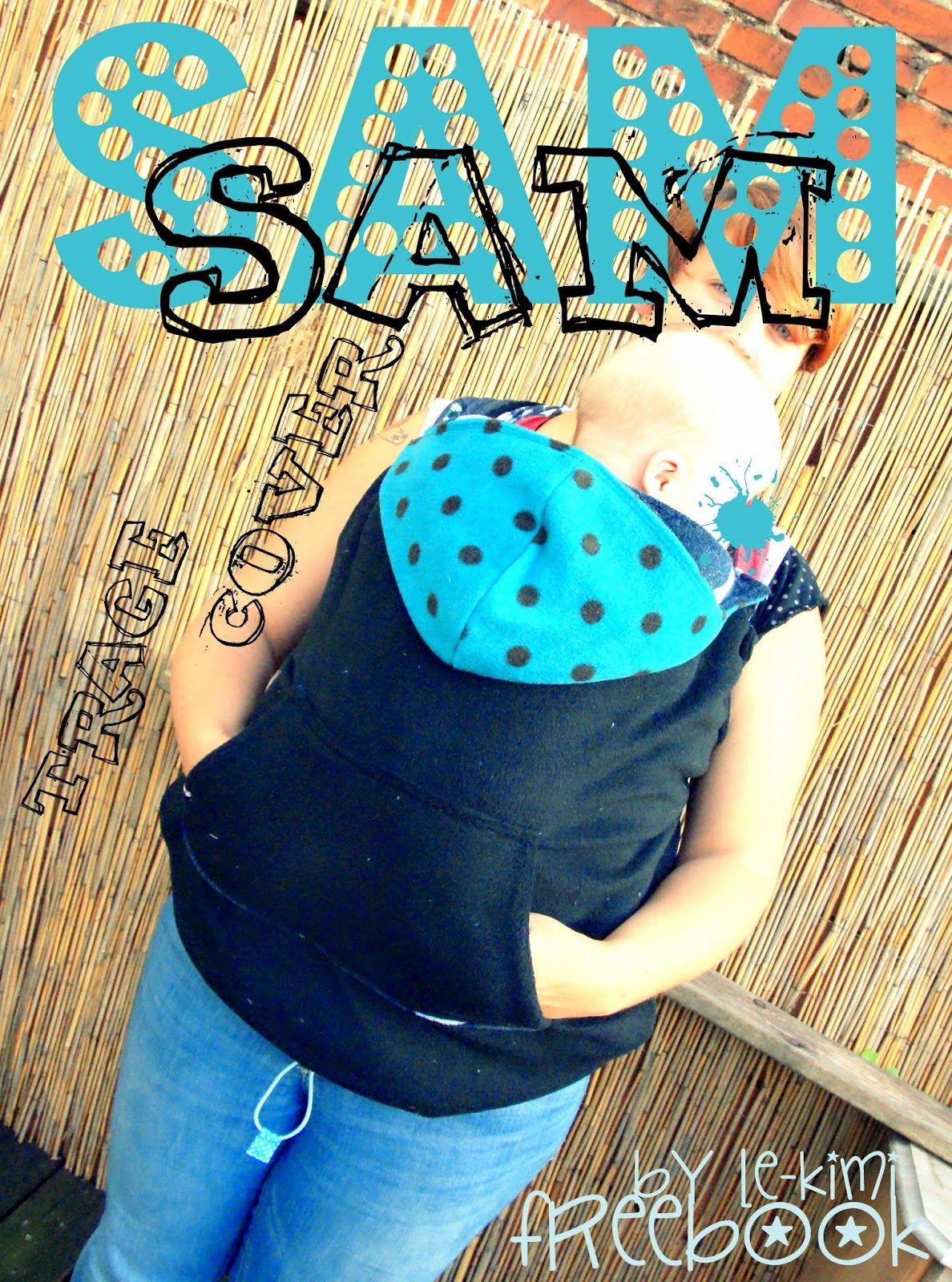 Freebook Tragecover SAM - Erweiterung für die Jacke um Babytrage ...