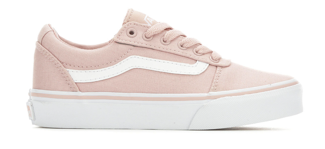 ca3a824878ba87 Blush color Vans from Shoe Carnival.