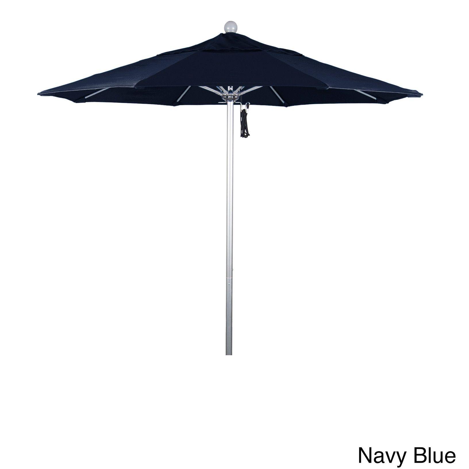 California Umbrella 7.5\' Rd. Aluminum Frame, Fiberglass Rib Market ...