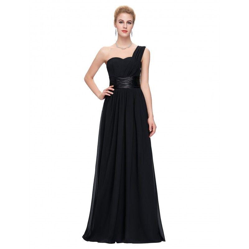 Čierne spoločenské šaty CL6022  78747aecd3