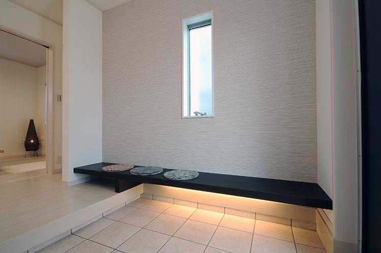 エントランス ベンチ の画像検索結果 インテリア イメージ 玄関アプローチ 土間 玄関