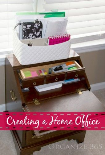 Creating A Home Office Organize 365