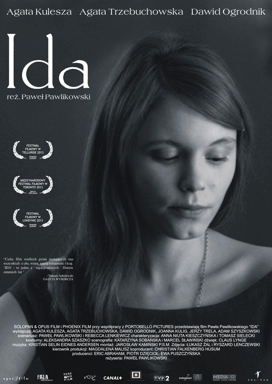 Ida 2013 Pawel Pawlikowski Agata Kulesza Movie Cinema Poster Art Print