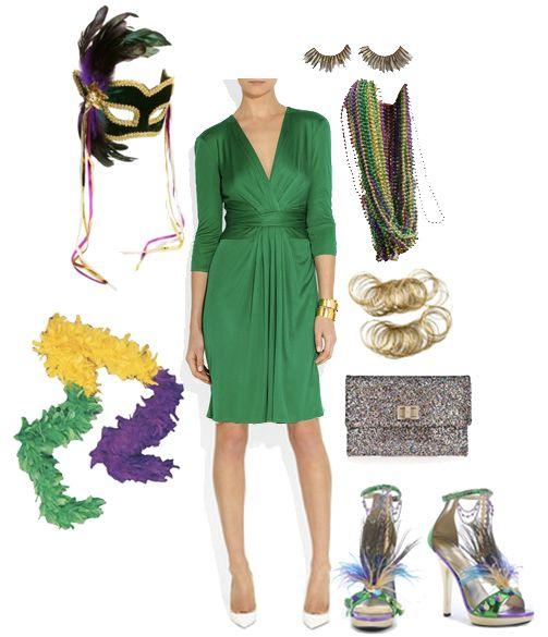 Cocktail Dresses Mardi Gras Party