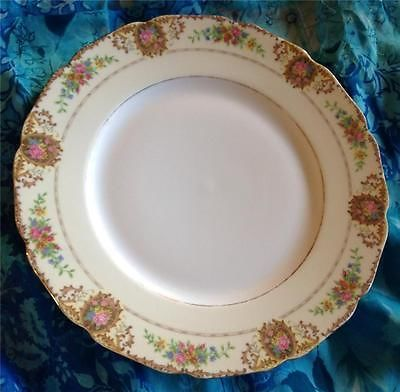 PATRICIA-Dinner-Plate-10-Black-Knight-Pink-Roses- & PATRICIA-Dinner-Plate-10-Black-Knight-Pink-Roses-Victorian-Style ...