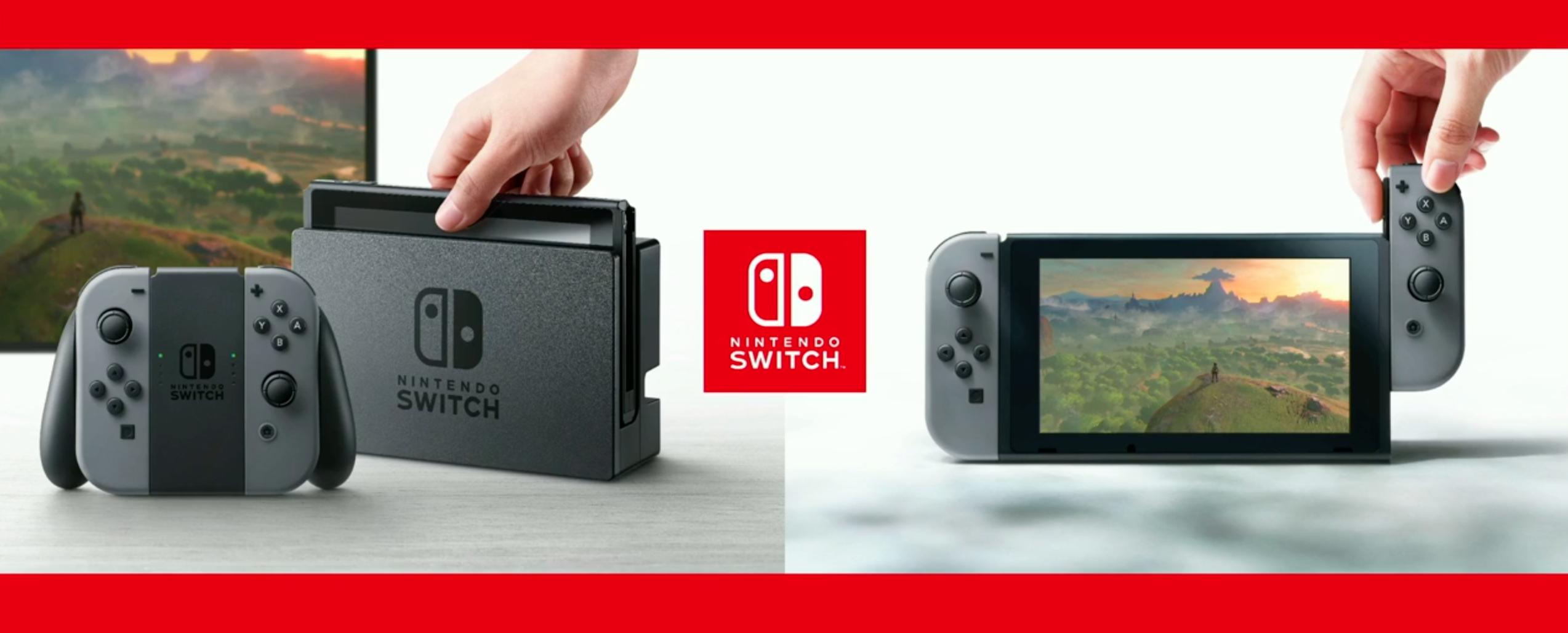 Reserva la Nintendo Switch en MediaMarkt por 319€