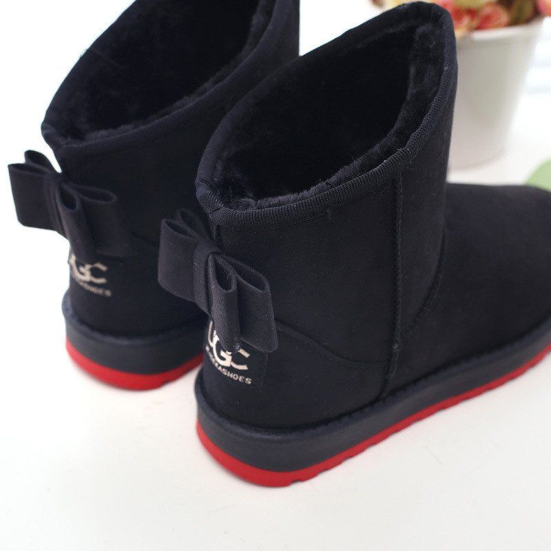 Women boots winter boots botas femininas plush 2015 fashion snow boots snow  shoes 16d97c37148f